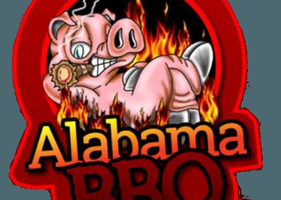 alabamas bbq catering maine logo