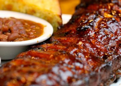 ribs baked beans bbq catering in maine