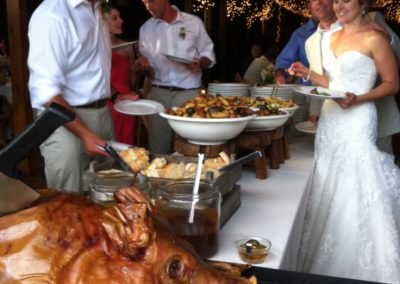 pig roast for wedding maine
